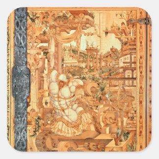 Wrangelschrank Cabinet, 1566 Square Sticker