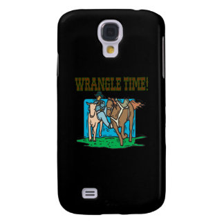Wrangle Time Samsung Galaxy S4 Cases