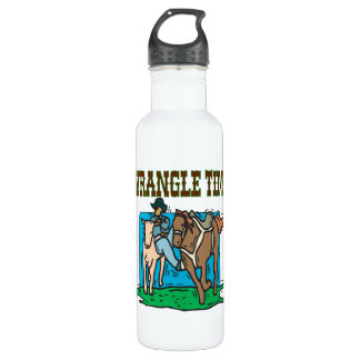 Wrangle Time Stainless Steel Water Bottle