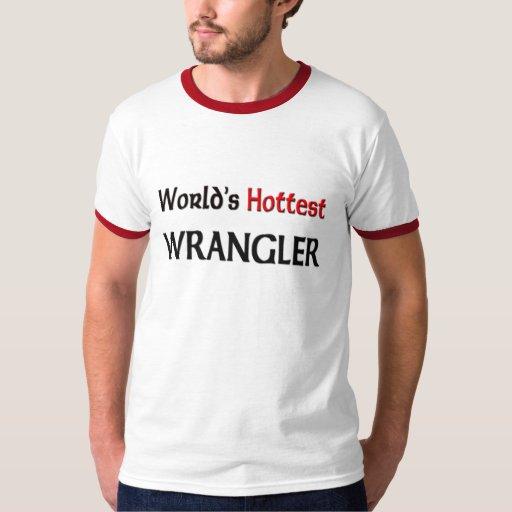 Wrangler más caliente del mundo playeras