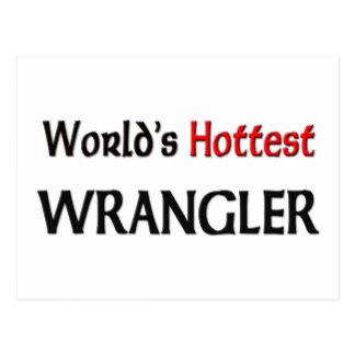 Wrangler más caliente del mundo postales