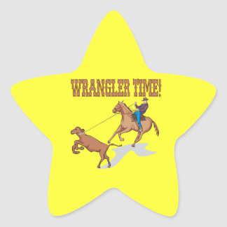 Wrangler Time Star Sticker