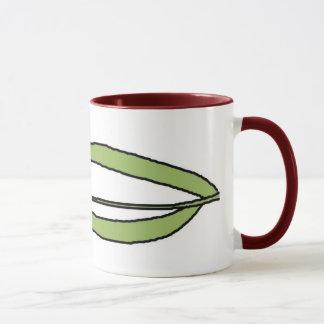 Wrap Around Flower Mug