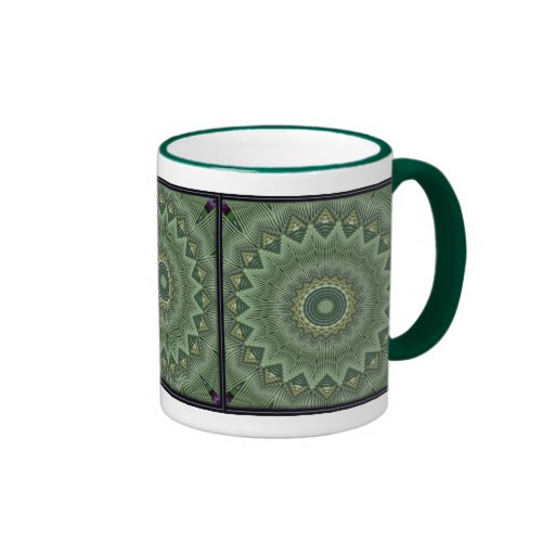 Wrap-around Kaleidoscope Ringer Mug