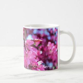 Wrap Around Photo Mug Pink Flowers Cherry Blossoms