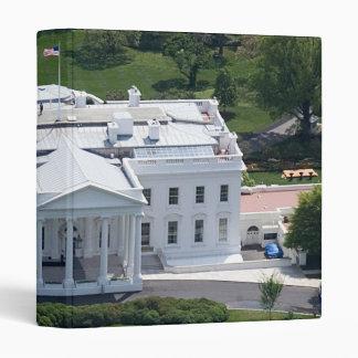 Wrap Around White House Vinyl Binder