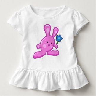 Wrap at wheels Bébé Pink Rabbit Toddler T-shirt