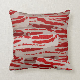 Wrap It In Bacon Throw Pillow