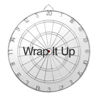 Wrap It Up Dartboard With Darts