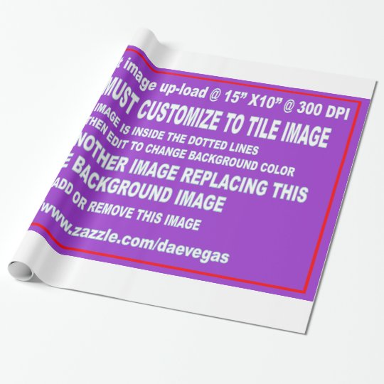 Wrap Paper Template Over 35 Background Colors