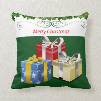 Wrap the Presents Throw Pillow