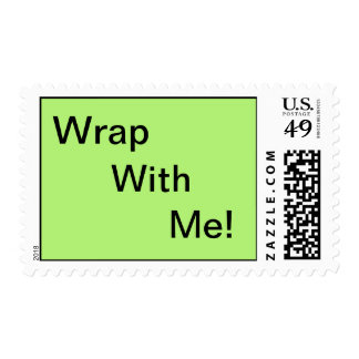 Wrap With Me! Postage