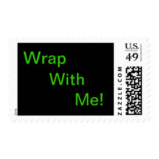 Wrap With Me! Postage Stamp