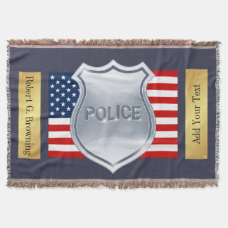 Wrap Your Hero with Love - Police Department - SRF Throw