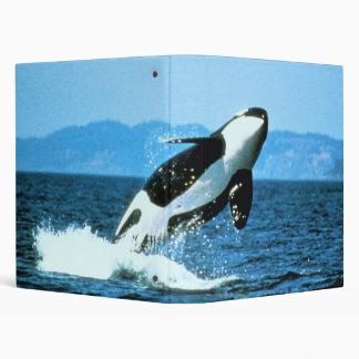 Wraparound Killer Whale Binder