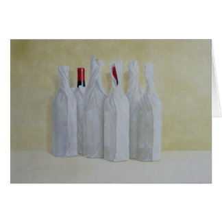 Wrapped Bottles Number 2 1990s Card