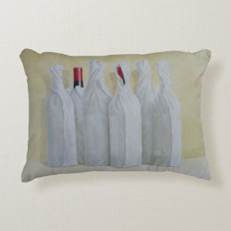 Wrapped Bottles Number 2 1990s Decorative Pillow