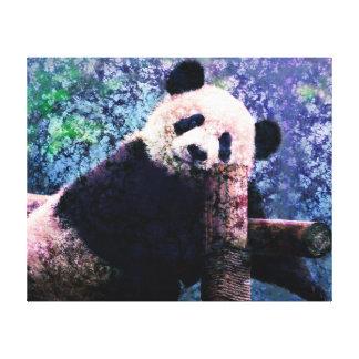 Wrapped Canvas Art - Sweet Panda