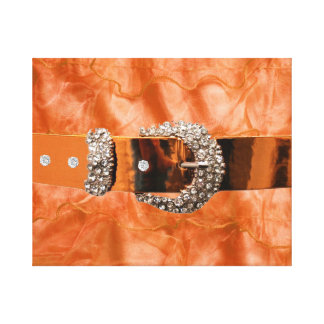 wrapped canvas artwork with Faux Rhinestones