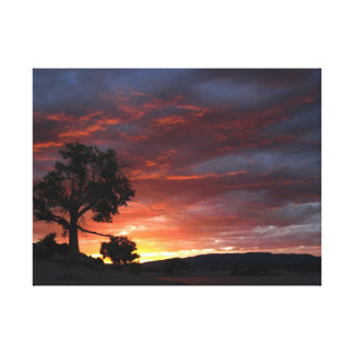 Wrapped Canvas-End of a Perfect Day Canvas Print