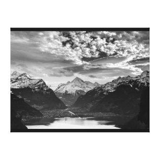 Wrapped Canvas Fine Art Print Switzerland Alps
