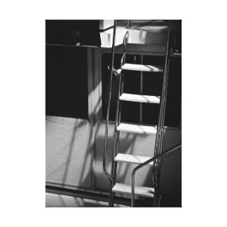 Wrapped Canvas - Ladder