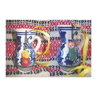 wrapped canvas matryoshka russia doll