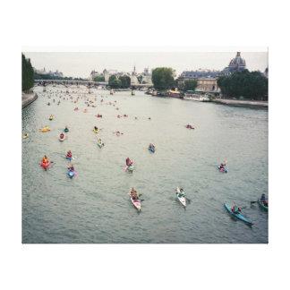 Wrapped Canvas /Paris