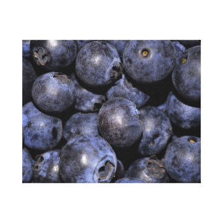 """Wrapped Canvas Photograph-""""Blueberries"""" Gallery Wrap Canvas"""