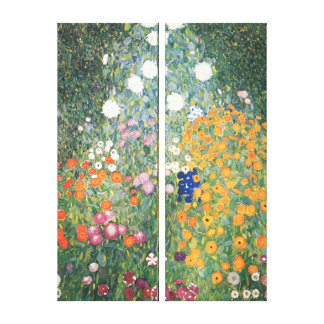 Wrapped Canvas Print - The Flower Garden