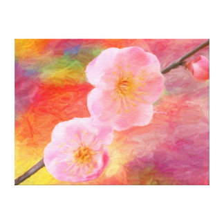 Wrapped canvas: Sweet Cherry wink Canvas Print