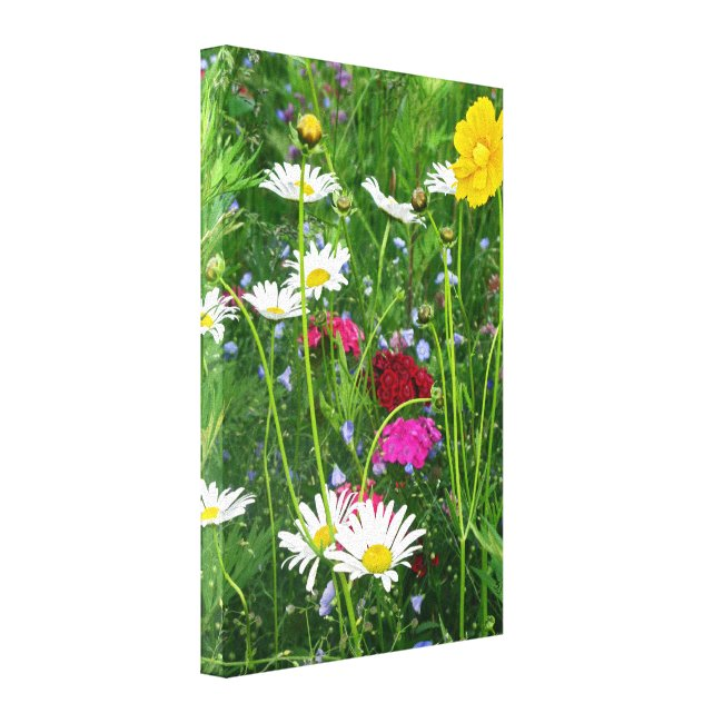 Wrapped Canvas: Wildflowers