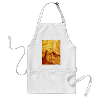Wrapped crumpled old vintage paper rusty brown art adult apron