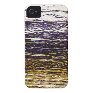 Wrapped crumpled old vintage paper rusty brown art iPhone 4 Case-Mate case