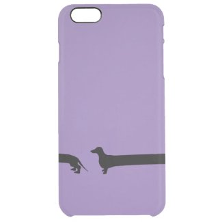 Wrapped Dachshund iphone 6 case Uncommon Clearly™ Deflector iPhone 6 Plus Case