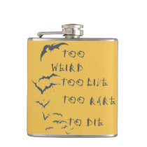 """Wrapped Flask """"Fear and Loathing in Las Vegas"""""""