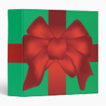 wrapped for christmas notebook vinyl binders