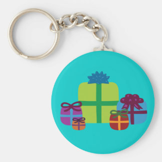 Wrapped Gifts Keychains