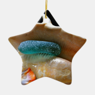 Wrapped Glass Ornament