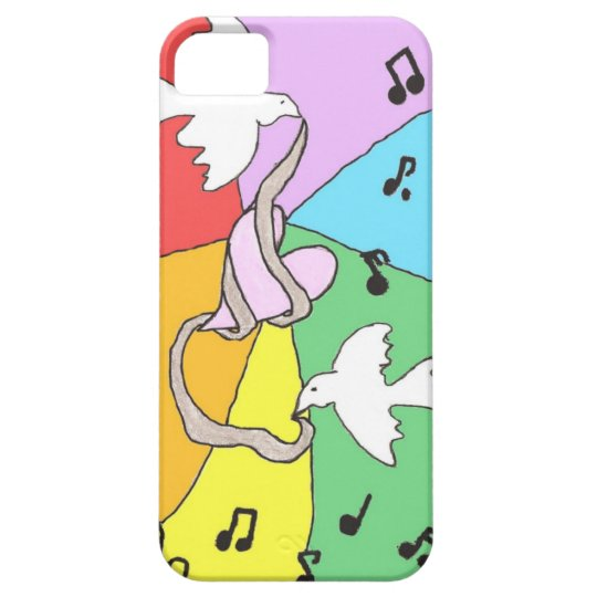 Wrapped Heart iPhone 5 Phone Case