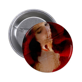 Wrapped in a Rose Gifts Pinback Buttons