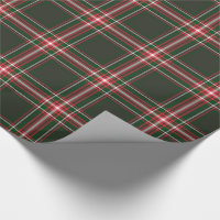 Wrapped in Christmas Plaid Wrapping Paper
