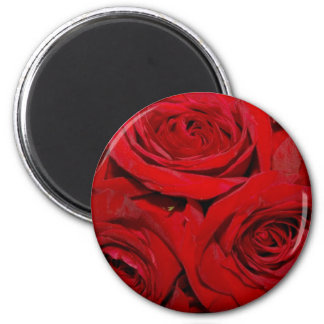 Wrapped in Roses Magnet