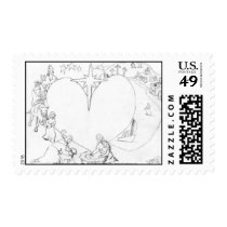 Wrapped in the arms of His Love Postage