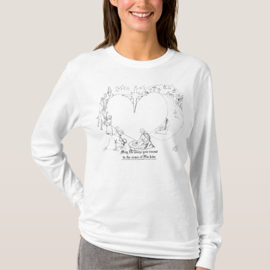 Wrapped in the arms of His Love T-Shirt