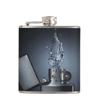 Wrapped Lighter Flask