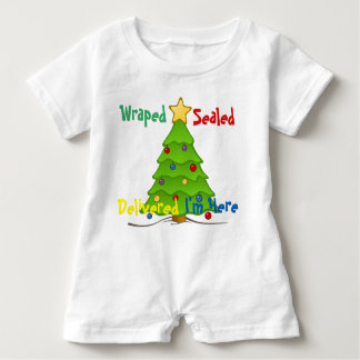 Wrapped Sealed Baby Romper
