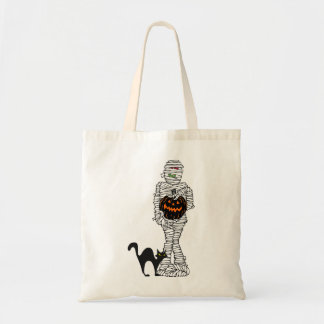 Wrapped Up Halloween Tote Bag