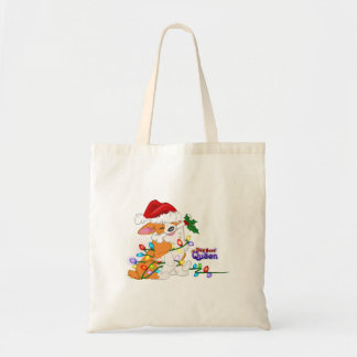 Wrapped Up in the Holidays Budget Tote Bag