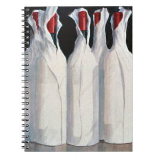 Wrapped Wine Bottles Number 1 1995 Notebook